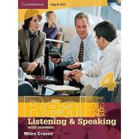 【预订】Real Listening & Speaking 4: With Answers [With 2