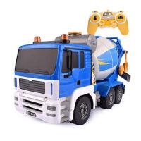 合金工程系列玩具遥控搅拌车挖掘机电动儿童充电翻斗车大吊车