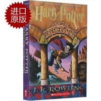 【现货】英文原版 哈利波特与魔法石 HARRY POTTER AND THE SORCERER'S STONE 经典版