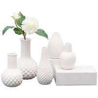 陶瓷花瓶摆件创意客厅干花插花花器ins家居装饰品