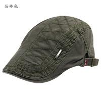 男士帽子春夏天贝雷帽韩版潮鸭舌帽 户外休闲前进帽 女士遮阳帽 可调节大小,55-59cm左右