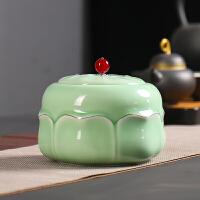 茶叶罐陶瓷大号密封罐普洱通用茶叶盒家用存储罐