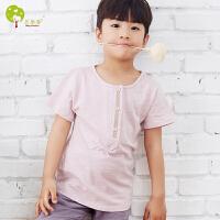 【当当自营】贝康馨 Baby Comfort2016新款男童纯棉圆领T恤 夏季新款
