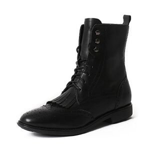 Teenmix/天美意专柜同款牛皮女靴6D463DZ6