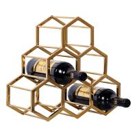 20180611140918492欧式家居客厅酒柜装饰品摆设摆件餐厅奢华创意工艺品葡萄酒红酒架