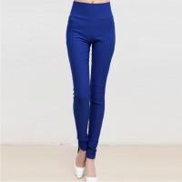 春夏外穿打底裤大码女装高腰修身显瘦薄款加肥长小脚铅笔裤弹力裤
