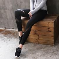 运动跑步长裤 大码弹力健身瑜伽服 女裤 速干透气新款夏