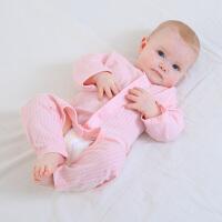 龙之涵婴幼儿连体衣新生儿春秋装衣服男女宝宝纯棉长袖哈衣和尚服