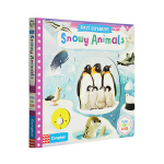 英文原版 busy系列 First Explorers Snowy Animals SETM科普 幼儿探索启蒙机关操作