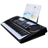 电子琴61键带麦克风玩具电子琴男女孩USB电子琴电源