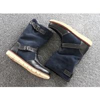 DAZED CONFUSED 潮牌新款秋冬季男鞋子男士休闲鞋韩版鞋英伦百搭加绒靴子 72
