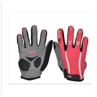 春秋自行车手套全指户外手套 抗震吸湿排汗健身山地装备