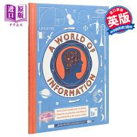 【中商原版】信息的世界 A World of Information 儿童科普 插图童书 亲子读物 事实与数字结合 7