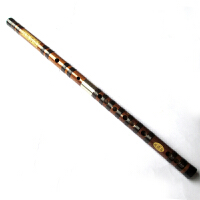 铁心竹双插调节笛 演奏及收藏型笛子