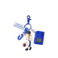 篮球钥匙挂件灌篮高手明星队仙道挂件汽车钥匙扣挂件动漫日系男士篮球包包饰品