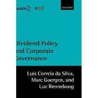 【预订】Dividend Policy and Corporate Governance