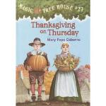 【预订】Magic Tree House #27: Thanksgiving on Thursday