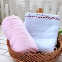 婴儿保暖包巾新生儿包被襁褓单裹布春秋冬款宝宝抱毯纯棉抱被2条