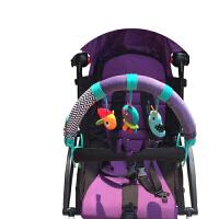 床夹挂铃宝宝婴儿推车挂件音乐床夹座椅夹子车挂0-1岁玩具