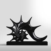 摆件现代简约客厅电视柜创意海螺摆件家居装饰品树脂工艺酒店摆设