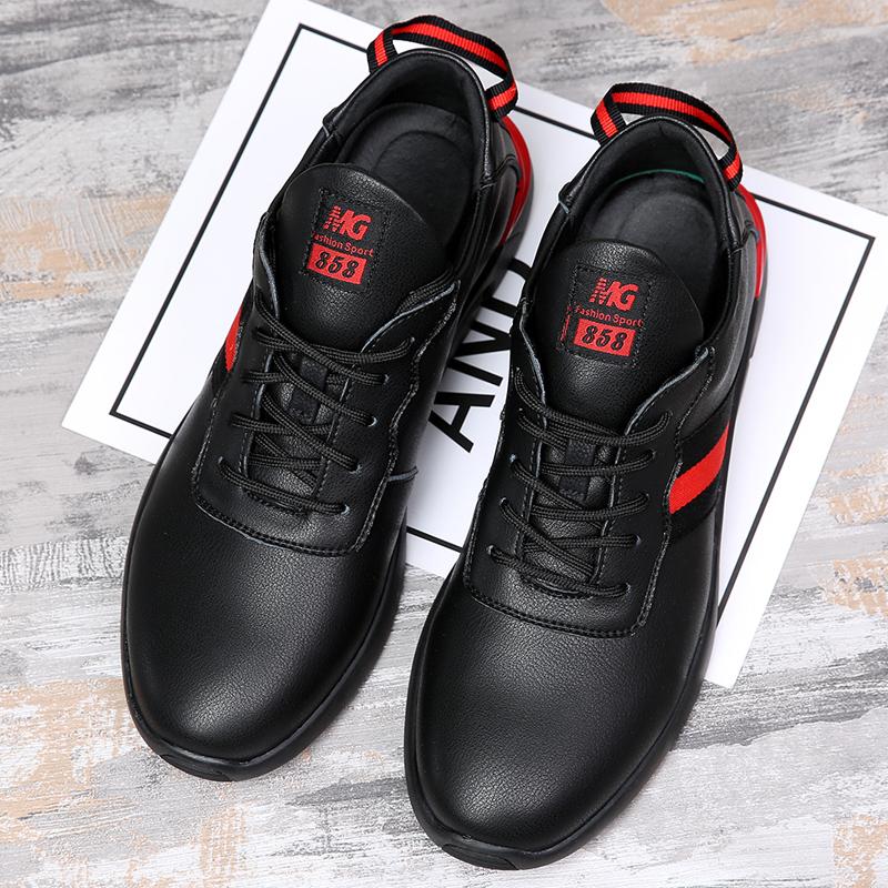 宜驰 EGCHI 春季新款男士透气防滑耐磨运动跑步休闲鞋子男 K1135 店铺上新,男靴爆款热卖,快来看看吧~