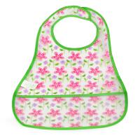 美国小绿芽Green Sprouts宝宝防水围嘴婴儿防漏围兜儿童围嘴饭兜