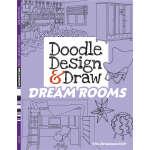 Doodle Design & Draw DREAM ROOMS (【按需印刷】)