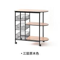 厨房置物架厨房用品收纳架层架落地置物架微波炉架子