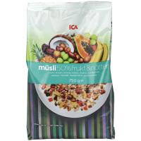 瑞典ICA麦片50%水果坚果什锦粗粮混合麦片750g进口早餐即食营养麦片