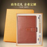 金属笔+8gU盘+笔记本三件套 创意实用节日礼物公司商务礼品套装定制logo