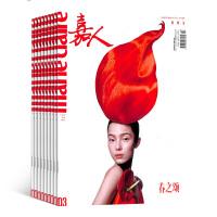嘉人杂志 时尚女士期刊杂志图书2018年8月起订全年订阅 杂志铺