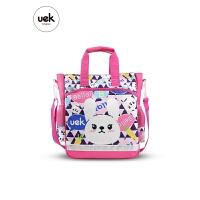 uek儿童补习袋小学生手提包美术袋拎书袋斜挎包男女补课书包