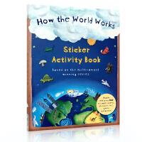 英文原版 How the World Works: Sticker Activity Book 世界如何运作:贴纸活动
