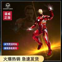 中动玩具钢铁侠手办反浩克装甲复仇者联盟灭霸漫威模型摆件MK46