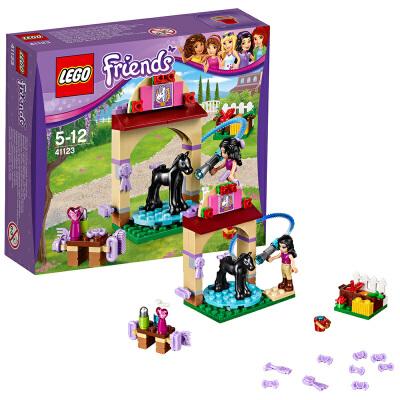 [当当自营]LEGO 乐高 Friends好朋友系列 小马淋浴房 积木拼插儿童益智玩具41123【当当自营】适合5-12岁,77pcs小颗粒积木