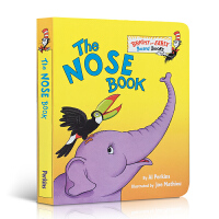 英文原版 The Nose Book Bright and Early Board Books 鼻子书 纸板书 撕不烂