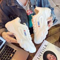 女鞋休闲鞋韩版平底单鞋女运动鞋圆头 系带学生时尚圆头 小白鞋板鞋女