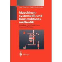 【预订】Maschinensystematik Und Konstruktionsmethodik: