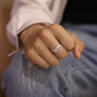 龙・99纯银男士戒指韩版个性单身潮男 食指指环 霸气学生开口尾戒 开口可调节