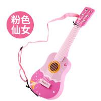 益龙灵(YILONGLING) 木质六弦儿童吉他 小男孩女孩子可弹奏玩具3-6岁宝宝初学生日礼物