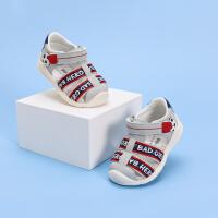 戴维贝拉童鞋男童凉鞋2021夏季新款儿童宝宝关键鞋小童洋气学步鞋