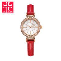 聚利时女表正品julius新款手表韩国时尚潮流镶钻时装表学生表