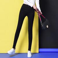打底裤女裤外穿秋冬季新款黑色紧身弹力小脚铅笔长裤款