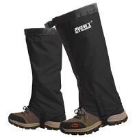 专业雪套户外登山徒步沙漠防沙鞋套男款儿童滑雪防水护腿脚套女
