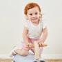 【2月28日开抢 秒杀价:27.9】迷你巴拉巴拉女宝宝无袖套装夏装新款婴儿纯棉可爱舒适两件套