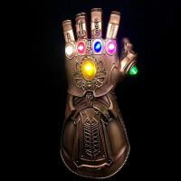 复仇者联盟3漫威周边战争抖音灭霸无限手套可穿戴发光thanos宝石 均码