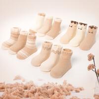 婴儿袜子新生儿宝宝网眼袜无骨薄袜