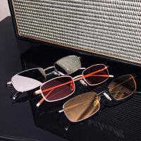 长方形太阳镜复古个性潮流搭配眼镜