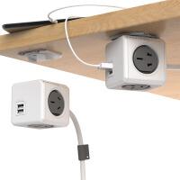 充电插座模方排插无线接线板插排USB插座插线板