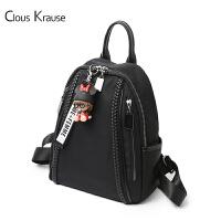 【1件3折,到手价:119.4元】Clous Krause 双肩包新款女士CK双肩背包时尚简约休闲百搭潮流旅行背包